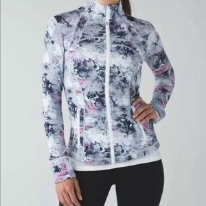 Lululemon Define Jacket Moody Mirage Pink Floral